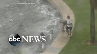 West Palm Beach resident talks about rescue efforts