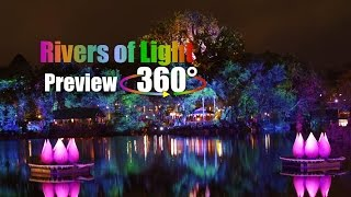 Rivers of Light Media Preview 360° | Animal Kingdom at Night!