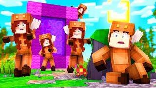 Minecraft Daycare - CRAZY BABY GIRLFRIEND PORTAL! w/ MooseCraft (Minecraft Kids Roleplay)