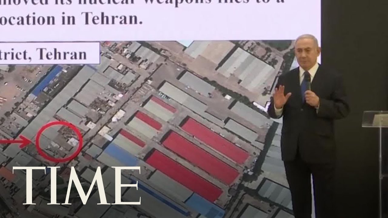 Netanyahu Claims To Have Proof Of Iran's Secret Nuclear Program | TIME