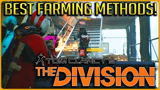 The Division: BEST Methods for High End Loot Farming, Resources, Money and Phoenix Credits!