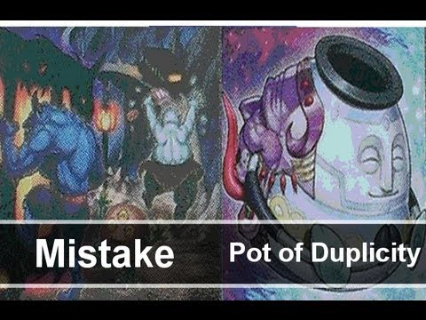 Yugioh Mistake & Pot of Duplicity Discussion Thunder King Rai-Oh Trap Card