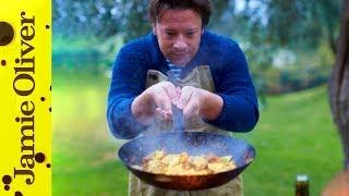 Sausage & Squash Pasta   Jamie Cooks Italy   Behind the Scenes