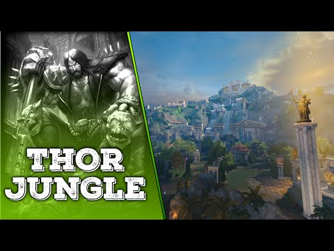 SMITE: KEEPING IT METAL! - Thor Jungle Gameplay Commentary