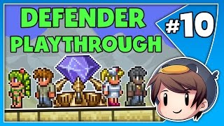 🛡️ NPC'S VS OLD ONE'S ARMY! // Ep. 10 // Terraria 1.3.5 // Defender Playthrough