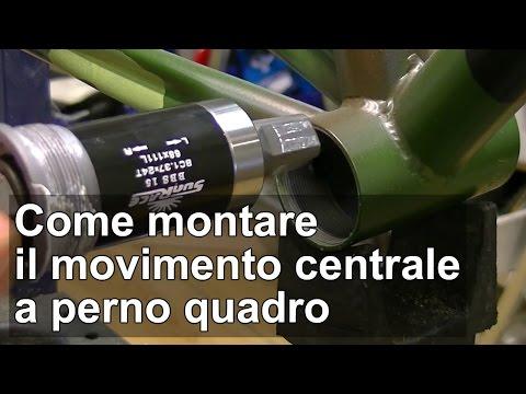Come montare il movimento centrale a perno quadro della bici TUTORIAL
