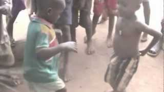Okpo Village kids dancing