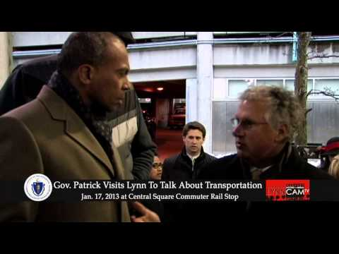 Governor Patrick Visits Lynn To Talk About Transportation - Jan. 17, 2013