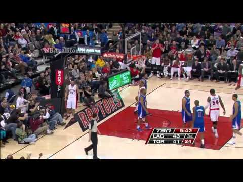 LA Clippers vs Toronto Raptors, January 25, 2014
