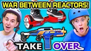 CHALLENGE COURSE! | TakeOver - New Game Show (React)