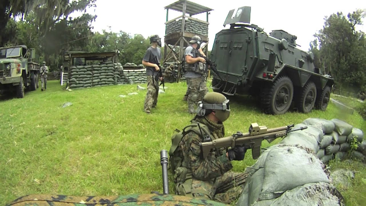 Airsoft War - DV8 - Part 9: Ep. 2: Operation: Common ...