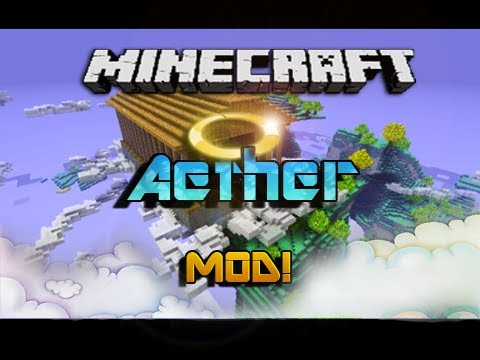 Minecraft 1.3.2 - Aether MOD!   Español Tutorial Review