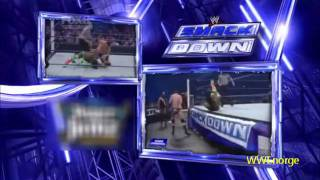 Wade Barret vs Kofi Kingston Intercontinental Championship smackdown 22/04/11