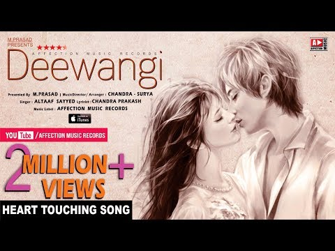 Heart Touching Love Song-Deewangi-Ummeed KartaHun | Latest Hindi Song 2017 #Affection Music Records