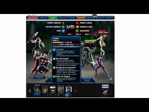 Marvel Avengers Alliance Subir de Nivel Rapido