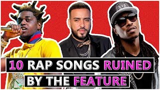 10 Rap Songs RUINED By the Features