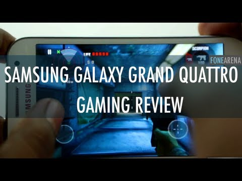 Samsung Galaxy Grand Quattro Gaming Review