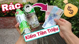 Nhặt rác ở Đài Loan Kiếm tiền Triệu 1 Ngày ( Làm Giàu Không Khó ) Lạ Vlog