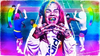 SH00TING WITH 6IX9INE'S REAL LIFE JUMPSHOT ON NBA 2K19 😱 NOTHING BUT GREENS WITH THE BEST JUMPSHOT!