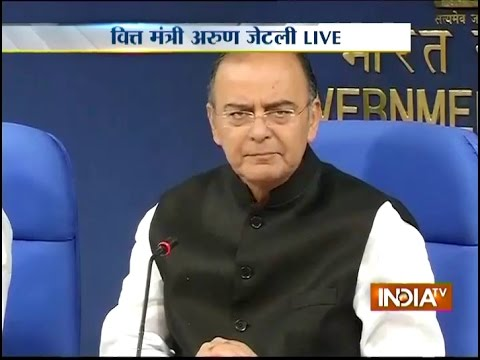 Live: Finance Minister Arun Jaitley addressing Media over Diesel Price