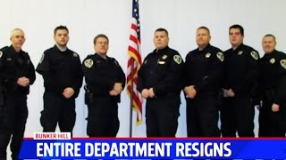No Cops Left In Town After EVERY Officer Resigns