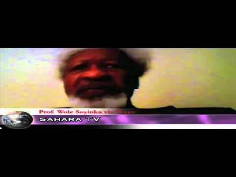 Wole Soyinka on SaharaTV