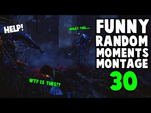 Dead by Daylight funny random moments montage 30
