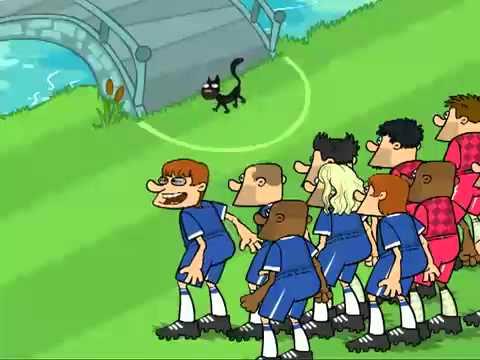 Мультфильм про Днепр Футбол по украински Soccer cartoons