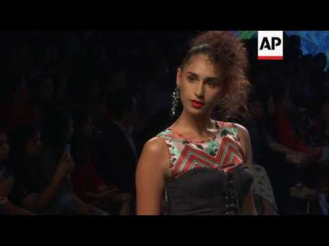 Disha Patani helps kick off Lakme Fashion Week in Mumbai