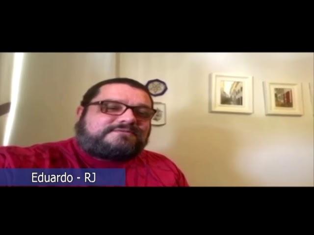 """Amigos do Papo: Eduardo Passos: """"A perda do meu pai não dói mais""""."""