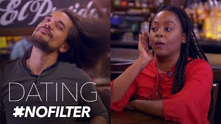 Hair Model Whips It Good on Date | Dating #NoFilter | E!