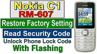 HOW TO RESET NOKIA C1 01 SECURITY CODE RESET AND FLASH BY RAJA GEE