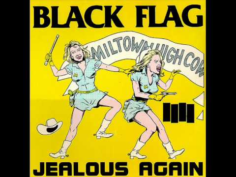 Black Flag - Jealous Again [Full Ep]