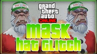 GTA 5 Online - EASY Best Hat and Mask Glitch [Motorcycle] GTA 5 Glitches!