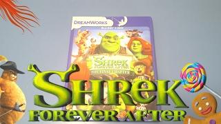 Shrek Forever After Bluray unboxing