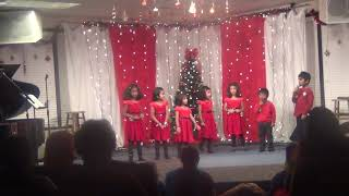 Christmas Song by ICCS Little Kids 2013