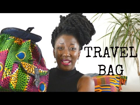 Whats in my traveling bag || GHANA EDITION || TERRACLES