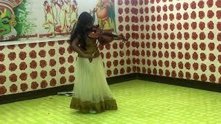 Meelle Melle Mukhapadam Violin Cover