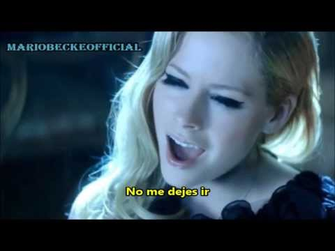 Avril Lavigne - Let Me Go ft. Chad Kroeger (Subtitulado Al Español) Video Official HD VEVO