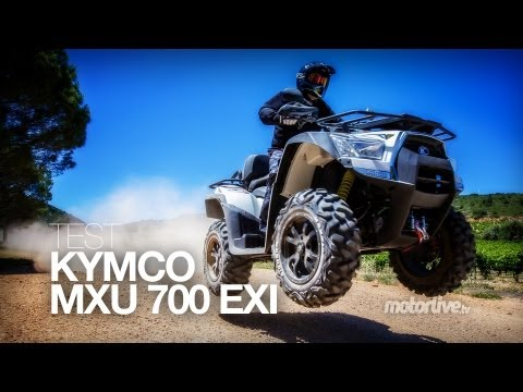 TEST   KYMCO MXU 700 EXi. le baroudeur d'exception !
