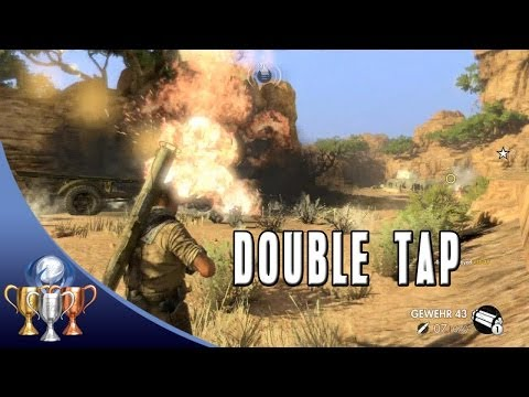 Sniper Elite 3 - Double Tap - Incapacitate 2 vehicles in Kasserine Pass within 5 seconds