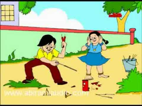 Deepavali - Chellame Chellam - Pre School - Animated Rhymes For Kids video