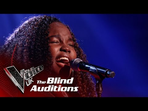 Bukky Oronti's 'Say Something' | Blind Auditions | The Voice UK 2019