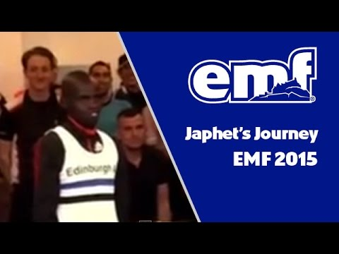 Japhet Koech's journey at the Edinburgh Marathon Festival 2015