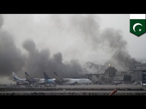 Jinnah International Airport Attack: Suicide Bombers Target Pakistan's Major Airport In Karachi video