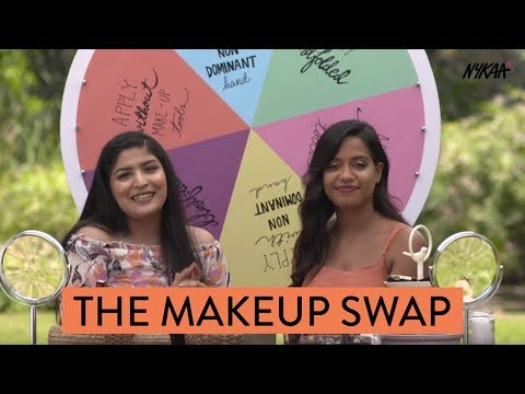 Makeup Swap Challenge With Shreya Jain & Debasree Banerjee
