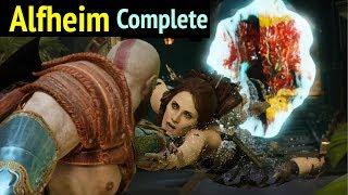 God of War: Alfheim Complete Walkthrough (God of War 4 Gameplay)