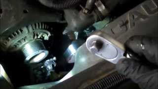 Water pump replacement Dodge Ram 5.9L Diesel 1994 - 2009 R2500 R3500 Install Remove Replace