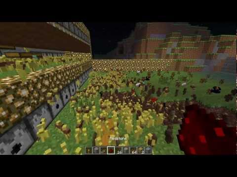 Minecraft 10.000 Clay Soldier HdR LotR Helms Klamm Helms Deep