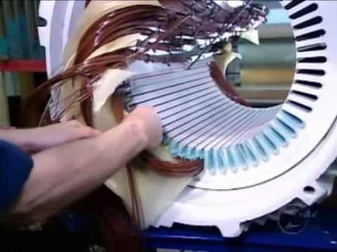 Montaje motor eléctrico